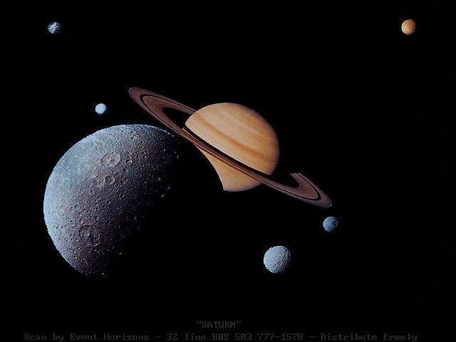 Наблюдения планет в телескоп